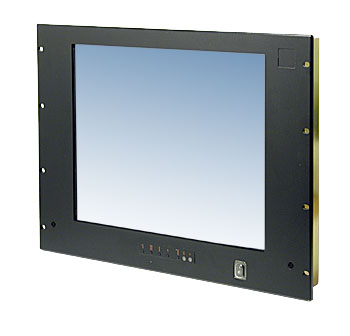 Industrial Lcd Monitor With Tv Tuner 17 Quot Sxga Rackmount