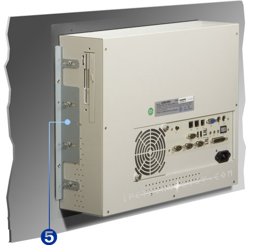 touch screen panel pc with resistive capacitive saw touch screen