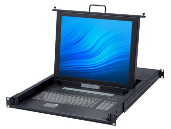 16 Port Monitor Keyboard Mouse Switch Kvm Switch Rack