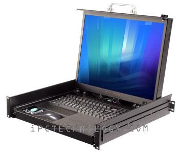 20 Inch Uxga 700 1 Contrast Ratio Keyboard Video Mouse